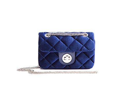 Miss Fong - Bolso cruzados para mujer, azul (azul) - FA16027-3 Azul