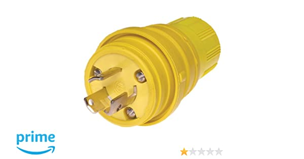 Woodhead 24w47 Watertite Wet Location Locking Blade Plug Inline. Woodhead 24w47 Watertite Wet Location Locking Blade Plug Inline Gfci 3 Wires 2 Poles Nema L515 Con Uration Yellow 15a Current 125v Voltage. Wiring. Yellow Wiring One Wire At Scoala.co