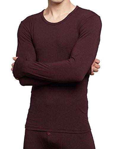 Autumn and winter men's thermal underwear sets(Dark Grey) - 6