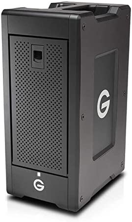 G-Technology G-Speed Shuttle XL Thunderbolt 3 Unidad de Disco Multiple 64 TB Torre Negro G-Speed Shuttle XL Thunderbolt 3, Unidad de Disco Duro, 64 TB, Unidad de Disco Duro, SSD, 96 TB,