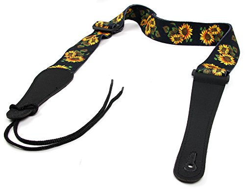 (Bray Terylene Flower Strap For Guitar Hero & Rock Band Guitars On PS3, PS2, Xbox 360 & Wii (Compatible With The New Guitar Hero: Warriors of Rock, 6, 5, 4, 3, 2 & 1) )