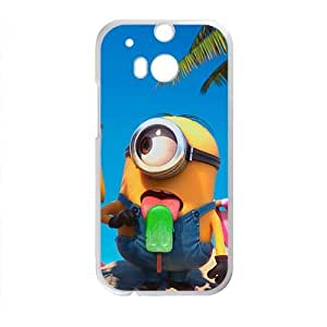 Cute naughty horarios de minions Cell Phone Case for HTC One M8 by ruishername