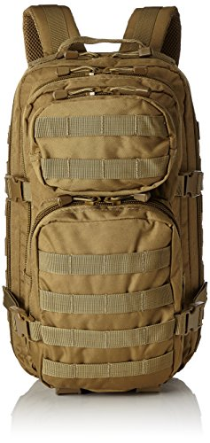 (Mil-Tec Military Army Patrol Molle Assault Pack Tactical Combat Rucksack Backpack Bag 20L Coyote Tan )