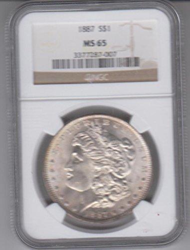 1887 Morgan Dollar MS65 NGC