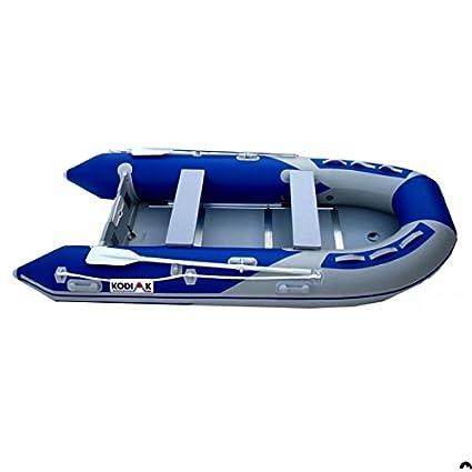 Amazon Com Kodiak Sportsman 12ft Inflatable Boat Aluminum Floor