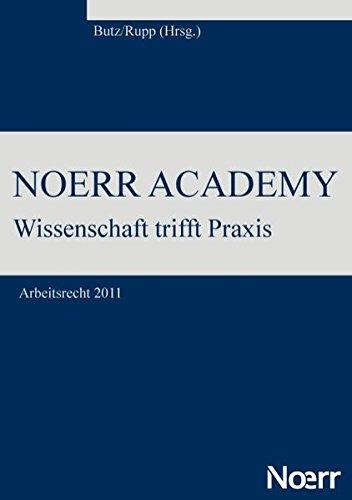 Noerr Academy (German Edition) pdf epub