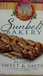 Sunbelt Bakery: Peanut Sweet & Salty Chewy Granola Bars 10 Ct. (3 Boxes)
