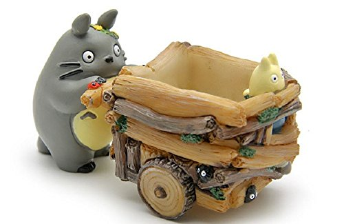 [Studio Ghibli My Neighbor Totoro Toys Cute 5cm Totoro Push Car Resin Action Figure Collection Model Toy for Kids Gift Home] (Mr Gold Lego Costume)