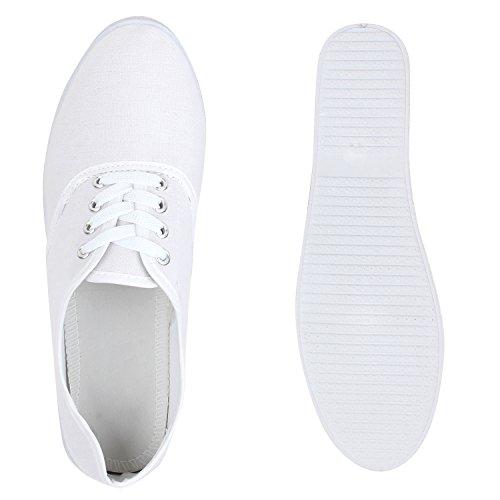 Stiefelparadies Damen Sneakers Halbschuhe Brogues Freizeit Schuhe ...
