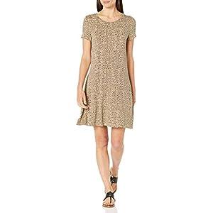 Best Epic Trends 410LZ0BnVTL._SS300_ Amazon Essentials Women's Short Sleeve Scoopneck A-line Shirt Dress