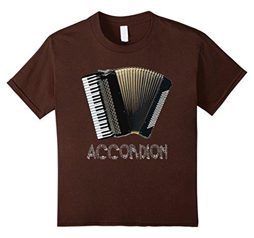 Kids Accordion T-Shirt Music Musical Instrument Organ Gra...
