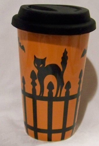 Longaberger Halloween Travel Cup