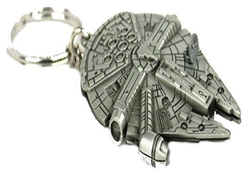 Han Solos Millenium Falcon Movie Replica Keychain w/Gift (Spiderman Replica Costume)