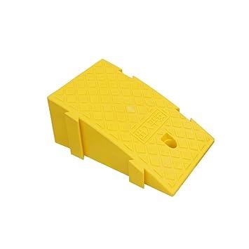 Q-kerb ramps Escaleras Almohadilla de Paso, Plástico Ligero y pequeño Rampas Rampas Empalme Triángulo Almohadilla para sillas de Ruedas IR Arriba Umbral ...