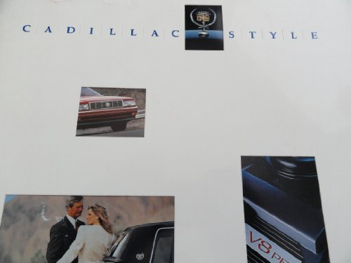1991 Cadillac Allante / Fleetwood / DeVille / Eldorado / Seville / Brougham Sales Brochure