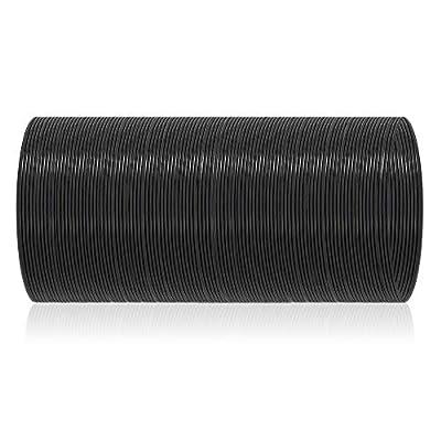 PLA Plus Filament 1.75mm 50meters 1 Spool for Easy 3D Printer,Pens Dimensional Accuracy +/- 0.02 mm,Black