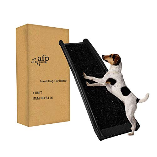 ALL FOR PAWS Pet Ramp Dog and Cat Ramp Lightweight Portable, Long 62