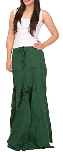 SNS Cotton Beach Long Maxi Evening Fishcut Skirt by Skirts 'N Scarves