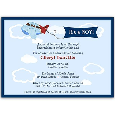 Classic Baby Shower Invitations - 5