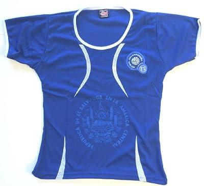 El Salvador Women Soccer Jersey One size Medium .New