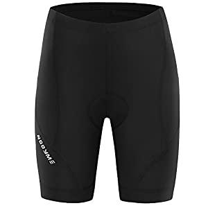 NOOYME (New Gear for Spring) Women Bike Shorts for Cycling with 3D Padded Classic Black Women Cycling Shorts (Black, X-large)