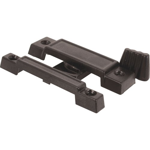 Prime-Line Products F 2532 Universal Cam Action Window Sash Lock, Black Die cast Die Cast Sash Lock