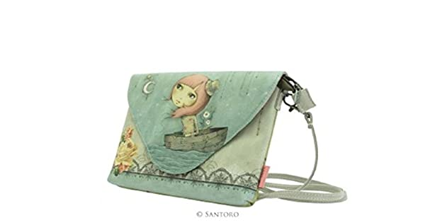 Amazon.com: Santoro London Bolso cartera Sobre Embrague ...