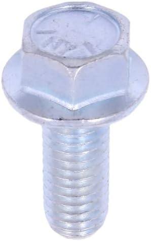 100 Count U-Turn 1//4-20 x 5//8 Serrated Hex Head Flange Bolt Grade 5 Zinc