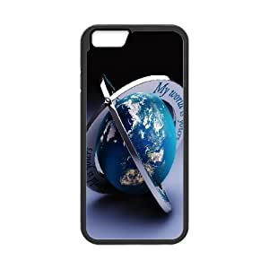 Iphone 6 Case, my world 2 Case for Iphone 6 4.7 screen Black tcj566701 tomchasejerry