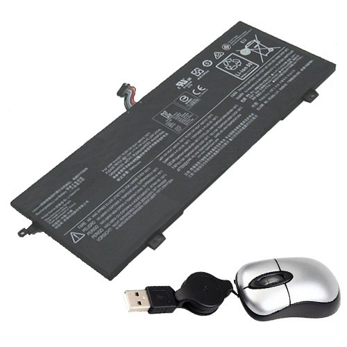 Amsahr L15M4PC0-05 Replacement Battery Lenovo L15M4PC0, 710S-13ISK, Xiaoxin Air 13 Pro, 710S-13ISK-ISE, Includes Mini Optical Mouse
