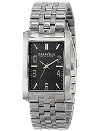 Bulova Caravelle New York Men's 43A118 Analog Display Japanese Quartz White Watch