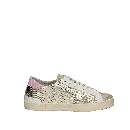 D.a.t.e. W281-HL-PM-PP Sneakers Frau Platino