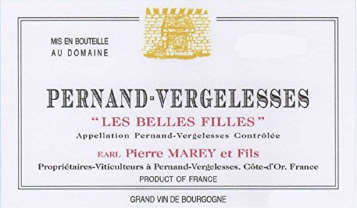 2011 Domaine Pierre Marey et Fils: Pernand-Vergelesses Les Belles Filles Pinot Noir 750 mL Wine