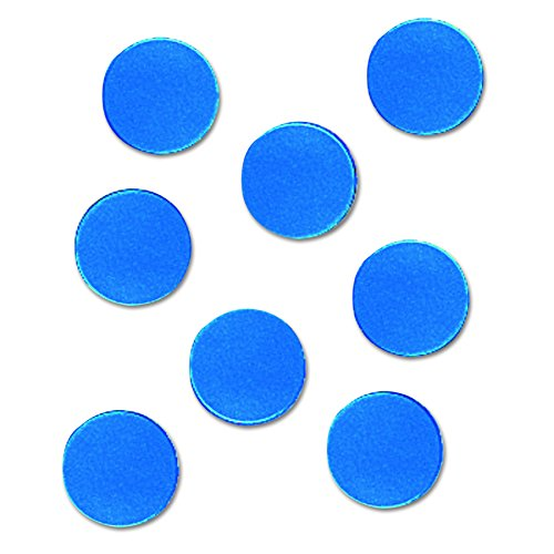 Quartet Magnetic Circles (Quartet MCB Magnetic Characters, Magnetic, Blue, 3/4