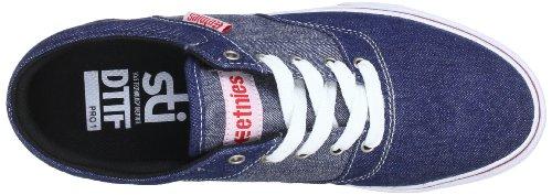 Etnies FAIRFAX SMU 4107000402-438 - Zapatillas de lona para hombre Azul (Blau (BLUE/RED/WHITE 438))