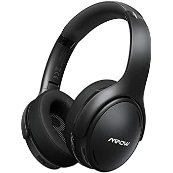 Mpow H19 IPO Active Noise Cancelling Headphones, Bluetooth 5.0 Wireless Headphones with CVC 8.0 Mic, Hi-Fi Stereo Deep Bass, Rapid Charge 30H Playtime, Memory-Protein Earpads Over Ear for Travel/Work