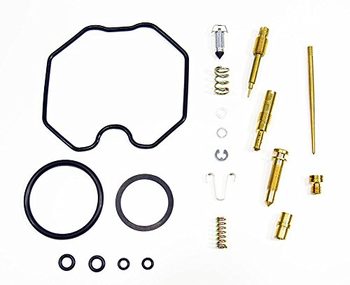 Outlaw Racing OR2546 Carburetor Carb Complete Master Repair Rebuild Kit CRF100 F 04-05 XR100 R 01-03 Oem Carb Carburetor