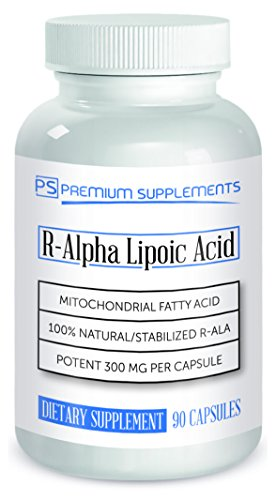 R-Alpha Lipoic Acid 300MG OF PURE R-LIPOIC ACID 90 count. ((((MAX STRENGTH)))) by Premium Supplements (Image #4)