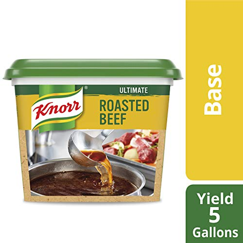 Knorr Professional Ultimate Beef Stock Base Gluten Free, No Artificial Flavors or Preservatives, No added MSG, Colors from Natural Sources, 1 lb, Pack of 6 ()