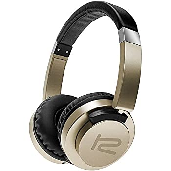 Klip Xtreme AkoustikFX Stereo Headphones with Microphone-On-ear Flat Foldable Rotating Earcups-Noise Isolating-In-Line Controls-Large 40mm Speaker ...