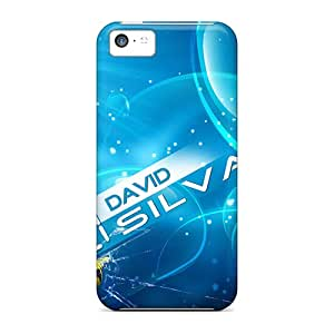 Iphone Cover Case - The Famous Fc Of England Manchester City Protective Case Compatibel With Iphone 5c