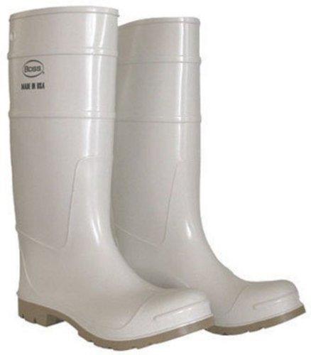 Boss 16 Shrimper Boot Menns Standard Hvit Pvc