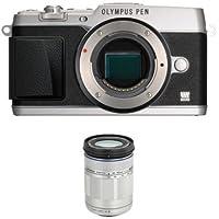 Olympus E-P5 + 40-150mm F4.0-5.6 R Zoom Lens (Silver)