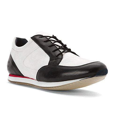 Hardy Mens Maddox Fashion Sneakers Black/ White