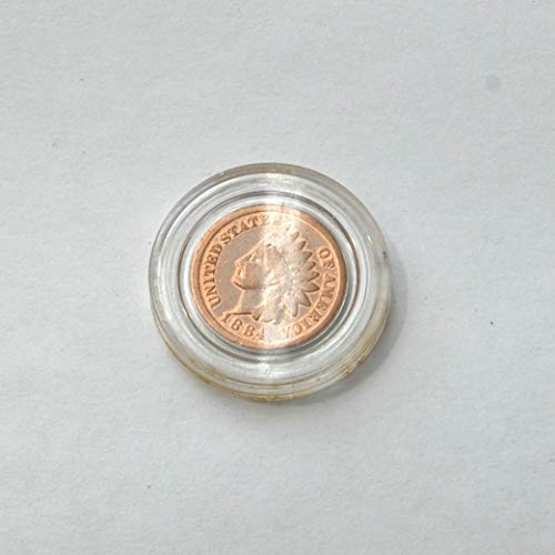 19th Century Currency - 1884 19th Century United States of America 1 Cent