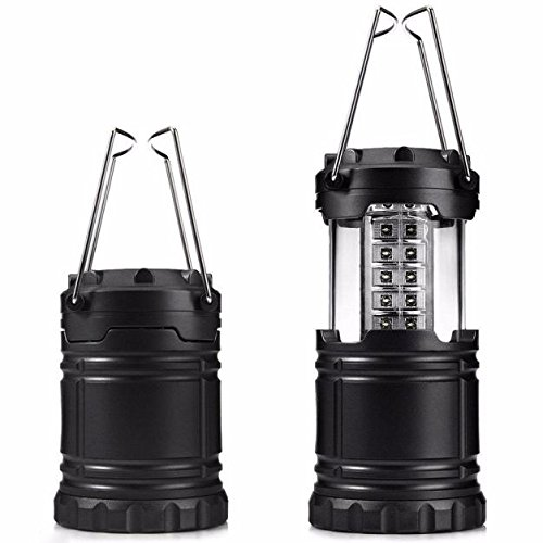 Price comparison product image Camping Lantern, Portable Rechargeable Waterproof Flashlight 30 LED Camping Lanterns Lights Super Bright Low Energy Collapsible Consumption for Hiking Emergencies