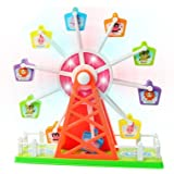 Ferris Wheel Electronic Rotating Merry Go Round Toy with Music and Lights