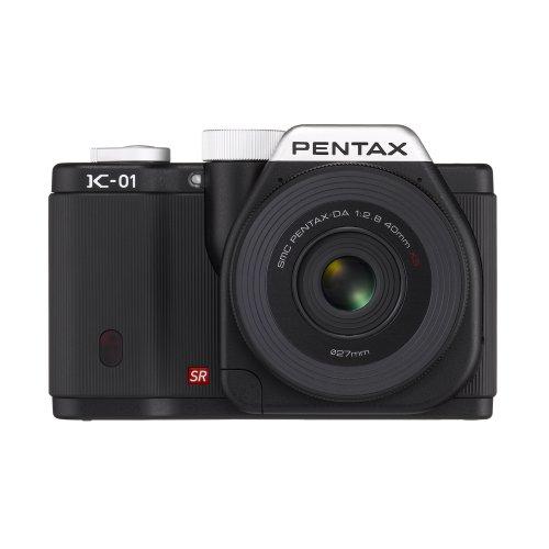 Pentax K-01 16MP APS-C CMOS Compact System Camera Kit with DA 40mm Lens (Black), Best Gadgets