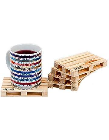 Design Studio Labyrinth Barcelona - Pallet-It Palette-It 8 Posavasos Europallet - Juego
