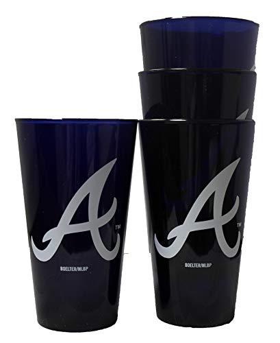 Boelter Atlanta Braves 16oz Plastic Pint Set of 4